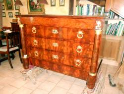 restauration Commode acajou